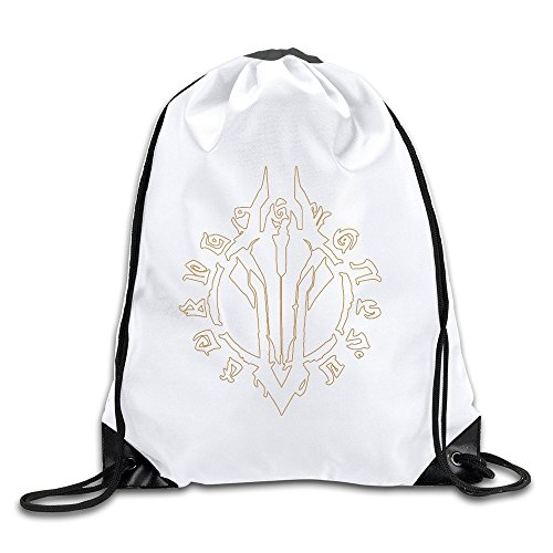 Price comparison product image Waterproof Breathability Customized Darksiders Hack And Slash Video Game THQ Drawstring Hiking Backpack Drawstring Backpack Cinch Sack