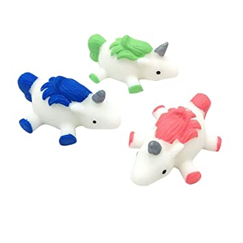 Amazon.com: Juguete de unicornio de rebote lento de Yamart ...