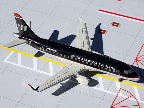 Us Airways Express Erj 170  Dark Blue  N807md  1 200    New Mold