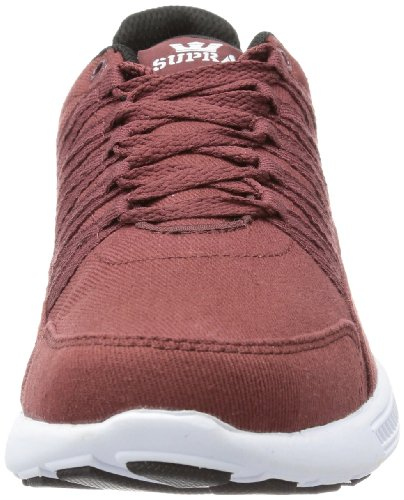 M Color Shoes 8 Size Supra White US Owen Burgundy Mens D White xw8pEqYR