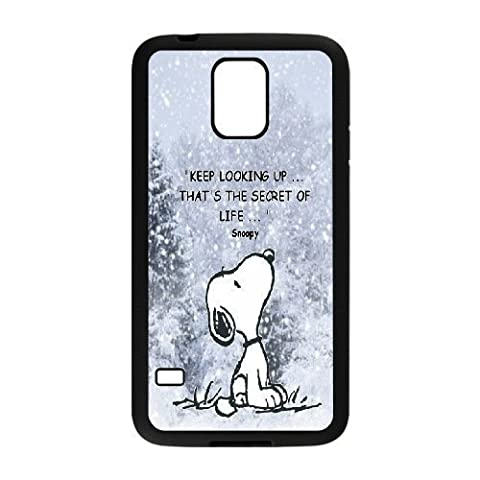 Custom High Quality WUCHAOGUI Phone case Cute & Lovely Snoopy Protective Case For Samsung Galaxy S5 - (Snoopy S5 Case)