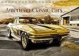 American Classic Cars (Tischkalender 2020 DIN A5 quer): US Oldtimer (Monatskalender, 14 Seiten ) by