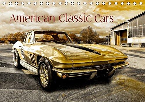 American Classic Cars (Tischkalender 2020 DIN A5 quer): US Oldtimer (Monatskalender, 14 Seiten ) by Christian Chrombacher