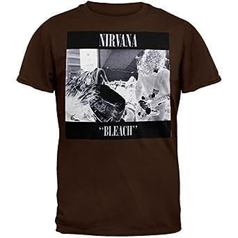 Nirvana bleach t shirt music fan t shirts for How to bleach designs into shirts