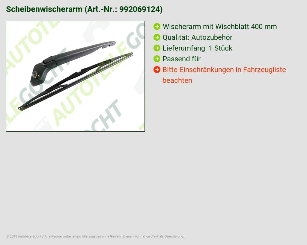 Wischer Scheibenwischer NEU!!! Volvo V40 Hinten Heck Wiacherarm