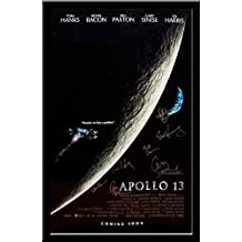 Apollo 13 - Signed Movie Poster in Wood Frame with COA