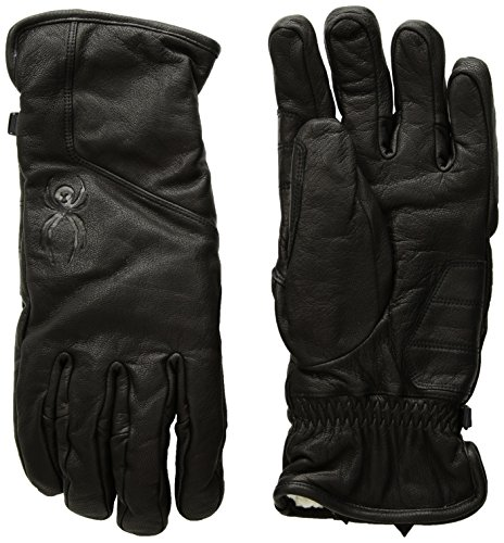 Spyder Men's Pace Ski Glove, Black/Black, Small