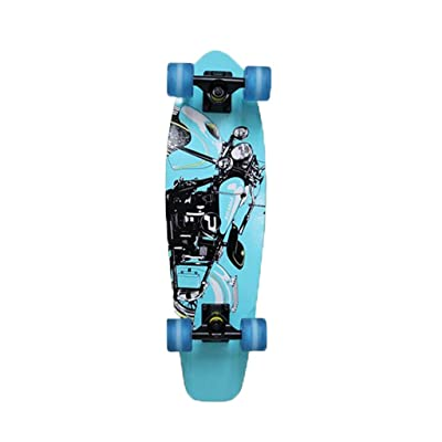 Aniseed Cruiser Skateboards Deck Complete Skateboard 27 Inch Longboard Locomotive : Sports & Outdoors