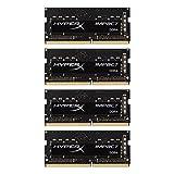 Kingston Technology HyperX Impact 64GB Kit (4x16GB) 2133MHz DDR4 CL14 260-Pin Laptop Memory HX421S14IBK4/64
