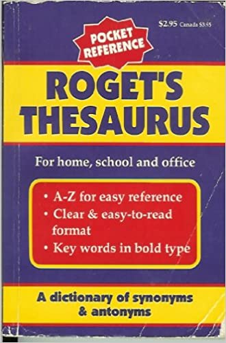 Roget s Thesaurus Pocket Reference: Charles Dickens: Amazon
