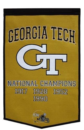 NCAA Georgia Tech Yellowjackets Dynasty Banner by Winning Streak