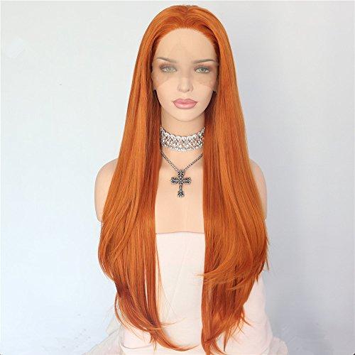 Kim Possible Halloween - Sapphirewigs Orange Color Natural Hairline Silky