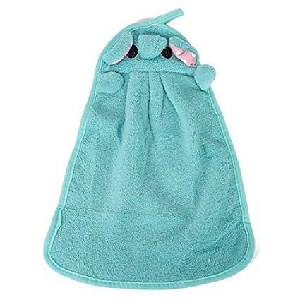 eDealMax Colgando de limpieza Para secarse las Manos toallas secas toalla de Manos