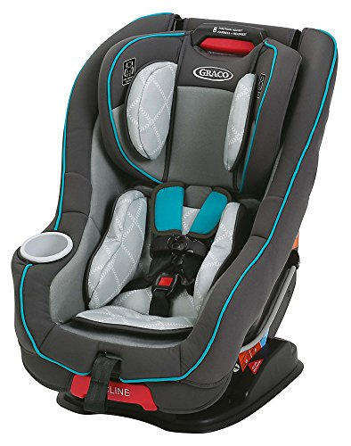 Graco Size 4 Me Convertible Rapid Remove Car Seat, Finch