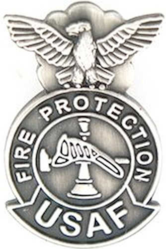 (U.S. Air Force Fire Protection Small Pin)