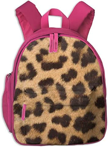 ヒョウの皮パターン 迷子防止リュック バックパック 子供用 子ども用バッグ ランドセル 高品質 レッスンバッグ 旅行 おでかけ 学用品 子供の贈り物