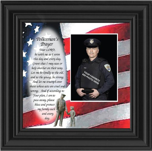 Policeman's Prayer Picture Frame 6794B - Usps Priority Delivery Mail Hours