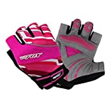 OPhelia Outdoor Women And Men Gel Padded Cycling Fingerless Half Finger Gloves