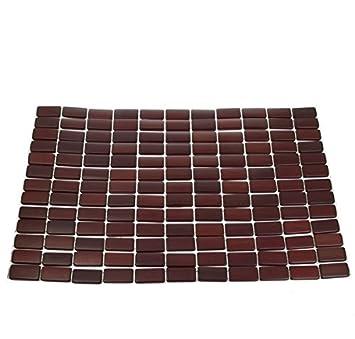 Amazon De Platzmatte Bamboo Platzsets Tischsets Holzmatte