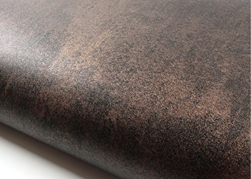 Peel & Stick Backsplash Imperial Bronze Brown Pearl Contact Paper Self-adhesive Wallpaper Shelf Liner Table Door Sticker MG265(1370-4) : 2.00 Feet X 6.56 Feet