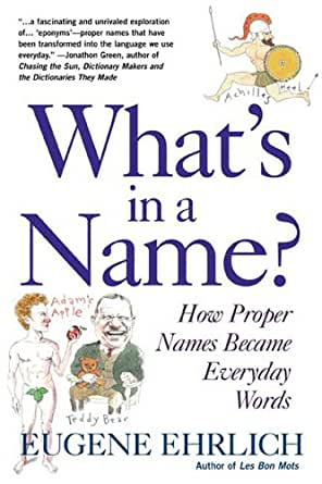 what s in a name ehrlich eugene