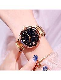 Relógio Feminino de Pulso Dourado Céu estrelado barato promoção