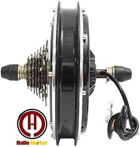 Motor eléctrico para Bicicleta de 36 V 750 W, sin escobillas, sin Engranajes para Eje de Rueda Trasera, Motor, Bicicleta eléctrica/Bicicleta eléctrica, Tipo roscado: Amazon.es: Deportes y aire libre