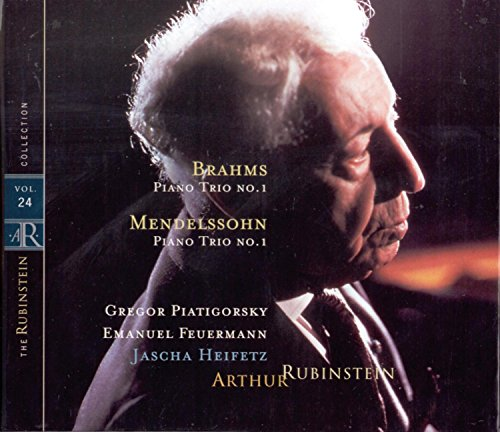 Rubinstein Collection, Vol. 24: Mendelssohn: Piano Trio, Op. 49; Brahms: Piano Trio, Op. 8