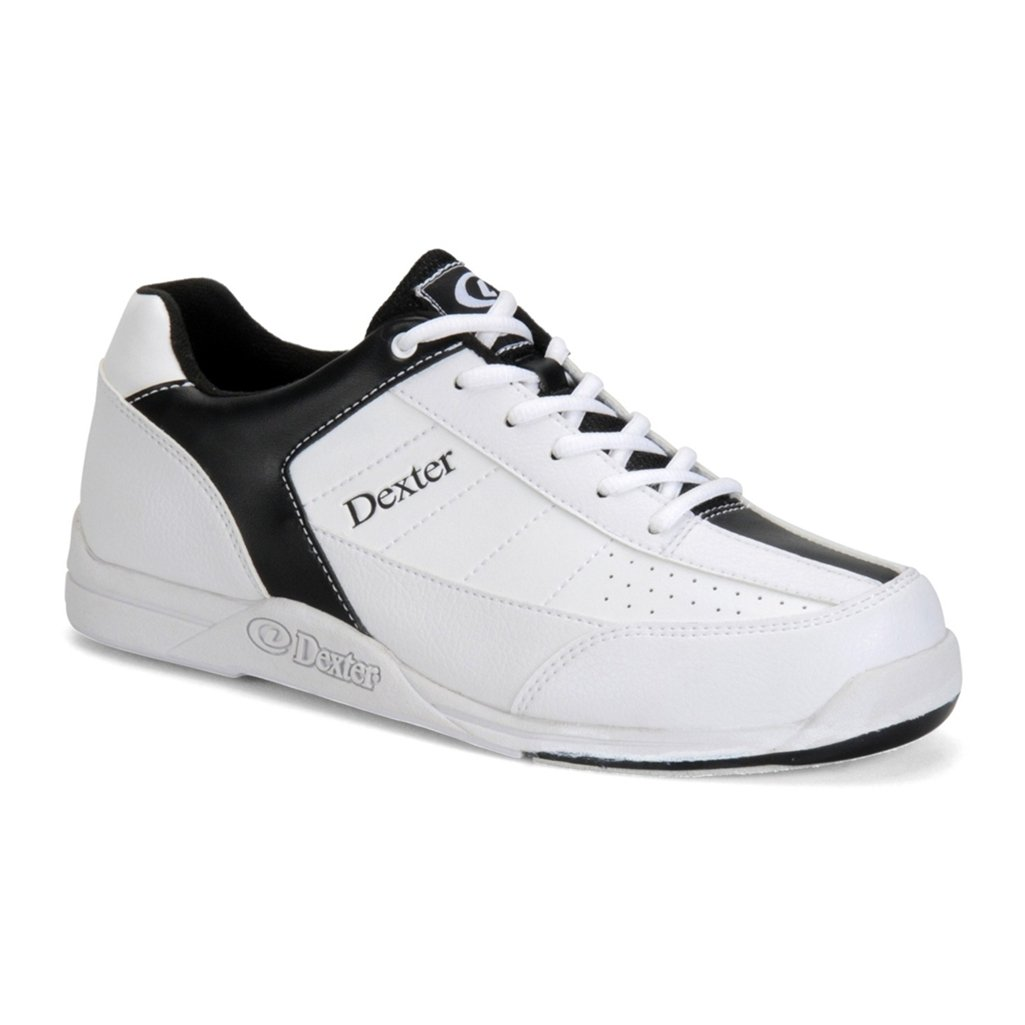 Dexter Youth Ricky III Bowling Shoes (2 M US, White/Black)
