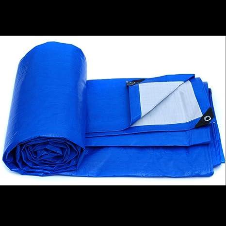 Yxsd Impermeable Lona Azul Naranja Paño de Lluvia de Dos Tonos A Prueba de Viento Cobertizo