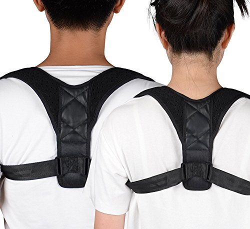 Adjustable Posture Corrector For Men & Women Clavicle Support, Improve Bad Posture, Shoulder Alignment, Muscle Memory, Upper Back and Neck Pain Relief by Tech-Prime (Image #2)