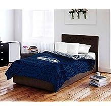 NFL Seattle Seahawks 5 Piece Full Sized Bedding Set - Reversible Comforter & Sheet Set