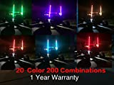 racing ace - 6ft Aces Racing LED Whip With 20 Colors and 200 Combinations