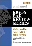 MBE Audio : Contracts, Rigos, James J., 073558351X