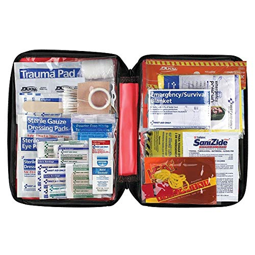 First Aid Only American Red Cross Emergency Preparedness with First Aid Kit, Soft Case
