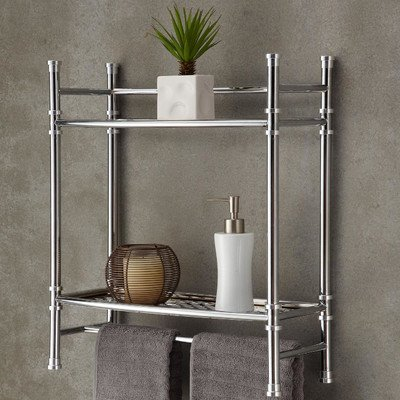 19'' x 21.5'' Wall Mount Countertop Shelf by Fox Hill Trading