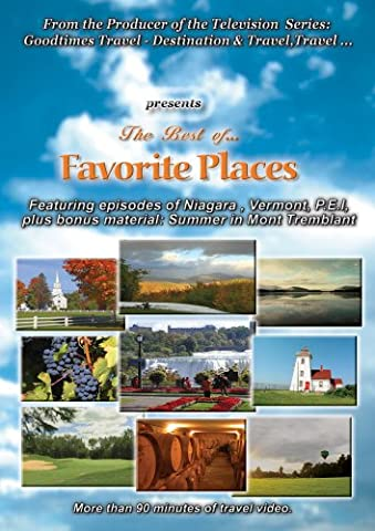 The Best Of Favourite Places (Special Interest DVDs & Videos)