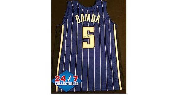 timeless design 1e7e5 6115c Mo Bamba Autographed Signed Orlando Magic Jersey - Beckett ...