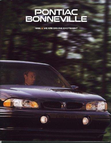 Sales Brochure Pontiac Bonneville (Pontiac Bonneville 1996 sales brochure Olympic Sponsor)
