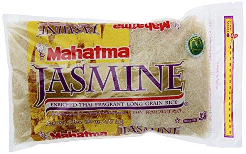 Riviana Foods Mahatma Jasmine Rice Enriched, 5 lb