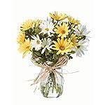 Farmhouse-Daisies-Silk-Arrangement-YellowWhite