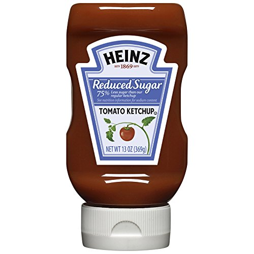 Country Ketchup (Heinz Tomato Ketchup, Reduced Sugar, 13 Ounce (Pack of 6))
