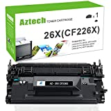 Aztech 1PK 9,000 High Yield Compatible for HP 26X CF226X 26A CF226A MFP M426fdw M402n Toner Cartridge for HP Laserjet Pro M402n M402dn M402dw M402d, MFP M426dw M426fdw M426fdn Toner Printer Black Ink