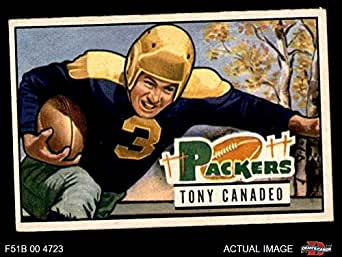 1951 Bowman # 90 Tony Canadeo Green Bay Packers (Football Card) Dean's Cards 4 - VG/EX Packers