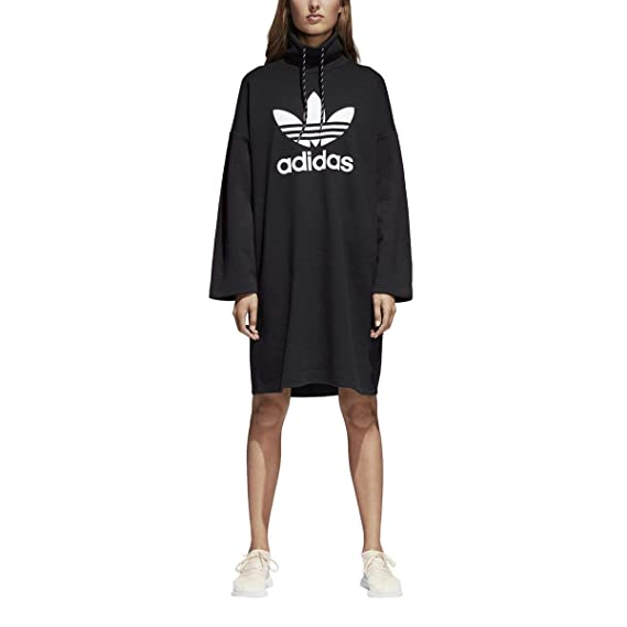 3cd51157a07 Image Unavailable. Image not available for. Colour: adidas Women's Originals  Pharrell Williams hu Hiking Dress CY7516 - Black -