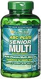 Puritans Pride ABC Plus Senior Multivitamin Multi-Mineral Formula Caplets, 240 Count
