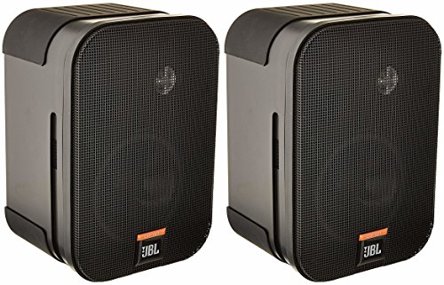 JBL CSS-1S/T Compact Two-Way 100V/70V/8-Ohm Loudspeaker, Black (sold as pair) 8 Ohms 2 Way Loudspeaker