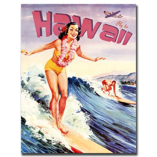 Trademark Fine Art Hawaii, 24x32-Inch Canvas Wall Art by Trademark Fine Art