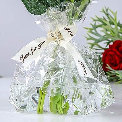 20m x 80cm de ancho Rollo de envoltura de celof/án transparente para regalo Florister/ías Cesta Cesta de flores Envoltura de pel/ícula Ramos de pel/ículas Navidad DIY Cumplea/ños Boda Pascua