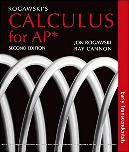Rogawskis calculus for ap early transcendentals jon rogawski rogawskis calculus for ap early transcendentals jon rogawski ray cannon 9781429250740 amazon books fandeluxe Gallery